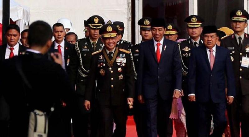 Presiden Jokowi: Polri Jangan Cepat Berpuas Diri
