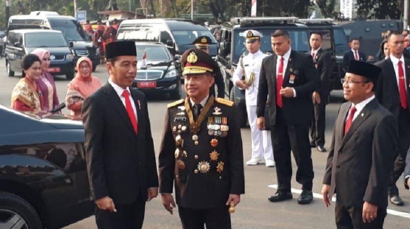 Kapolri Sampaikan Publik Aman di Pemerintahan Jokowi