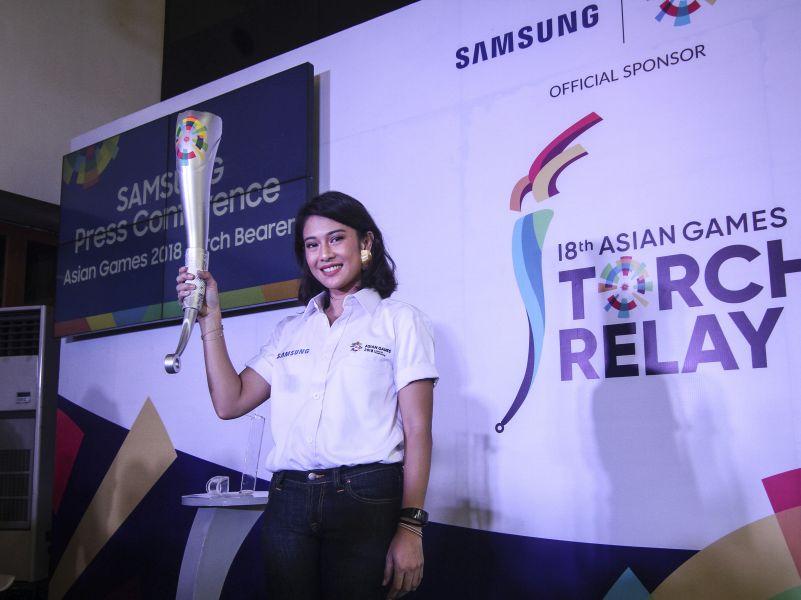Dian Sastro Akan Bawa Obor Asian Games di Solo