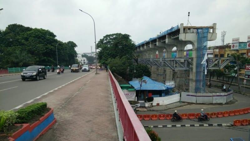 Jalan Rusak Akibat LRT Segera Diperbaiki Sebelum Asian Games
