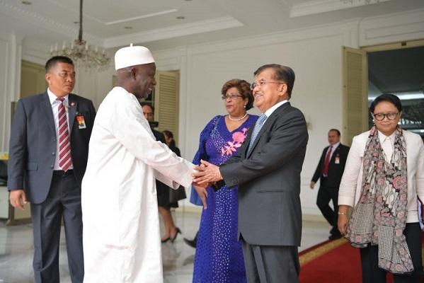 RI Lobi Gambia, Jajaki Kerjasama dengan Afrika Barat
