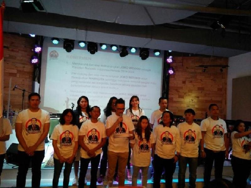 Eva: Relawan Tak Hanya Memenangkan, Juga Wujudkan Nawacita