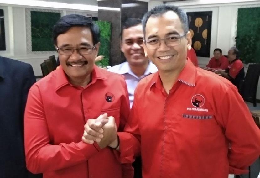 Pemilu 2019, Djarot dan Sihar Ikut Nyaleg