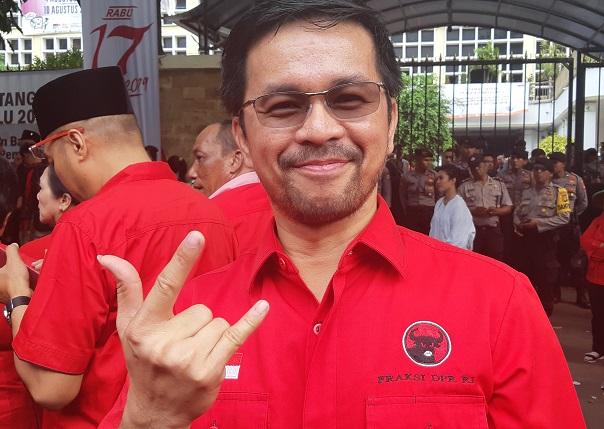 Kawal Perjuangan Pekerja, Marinus Siap Merahkan Banten