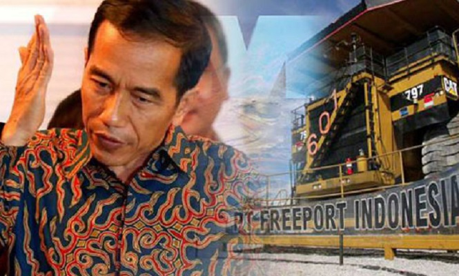 Jokowi Genjot Penerimaan Negara Lebih Besar dari Freeport
