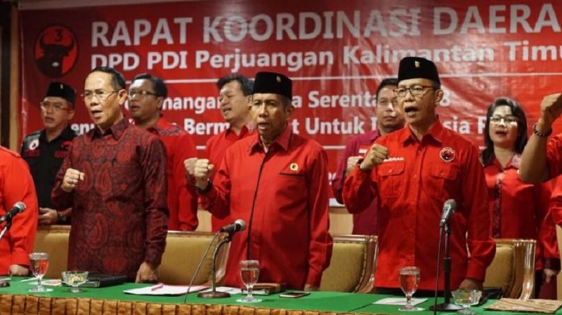 PDI Perjuangan Kaltim Optimistis Raih 20 Kursi di DPRD