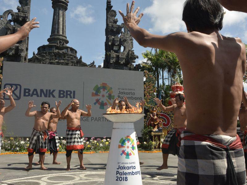Pawai Obor Asian Games Berdampak Baik untuk Pariwisata