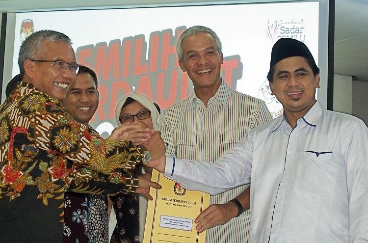 Ganjar Ajak Gus Yasin Cermati Politik Anggaran