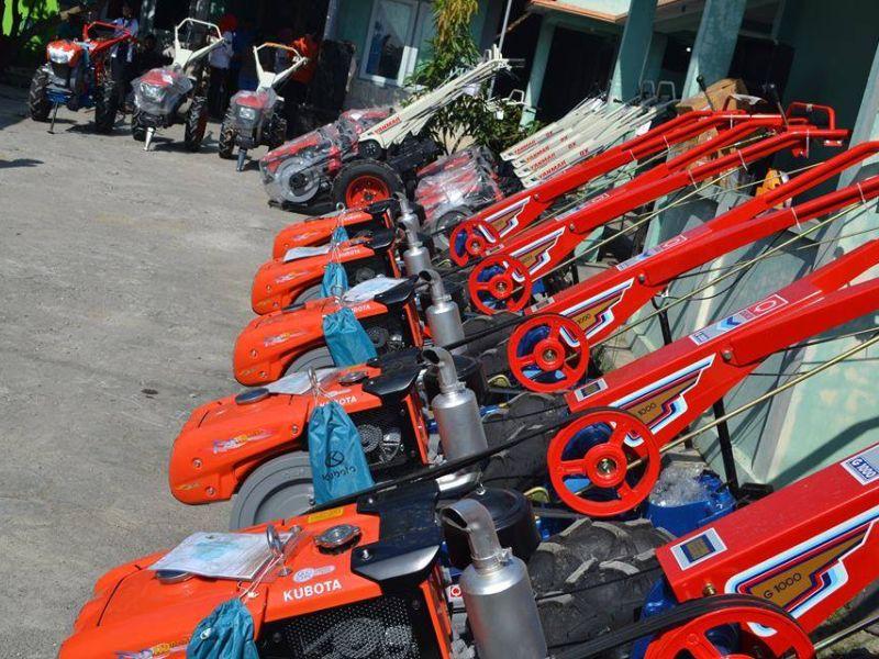 Bantu Petani, Mundjirin Anggarkan 1.600 Traktor Tangan