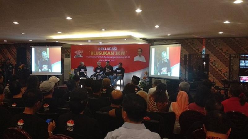 Deklarasi Komunitas Blusukan Jkw, Ganjar Ingatkan Nawacita