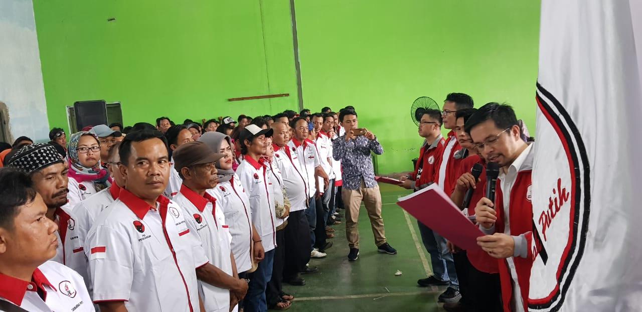 Lantik PAC TMP Kabupaten Tangerang, Marinus: Jaga NKRI