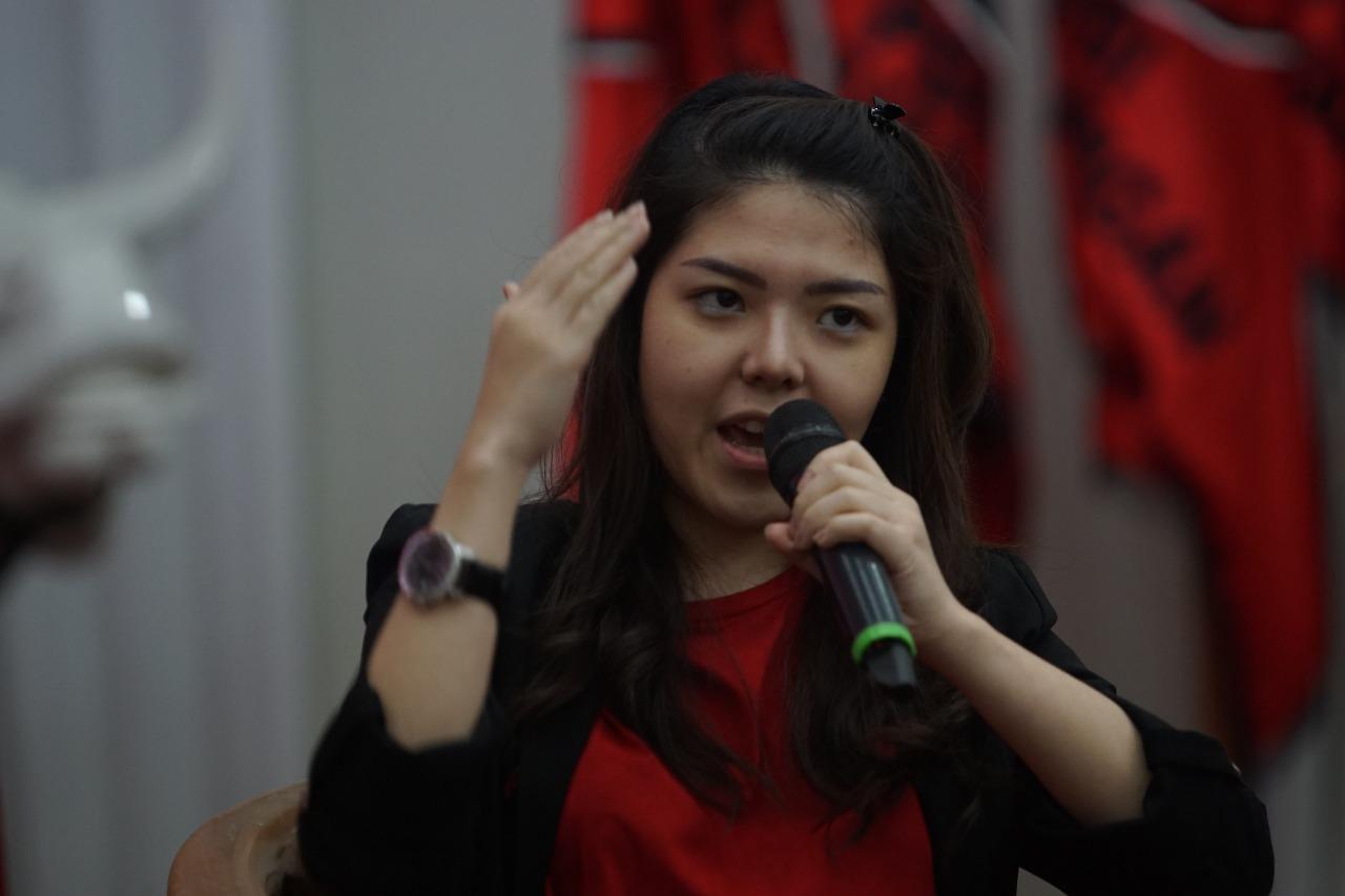 Pancasila dan UUD 45 Bikin Tina Kepincut PDI Perjuangan
