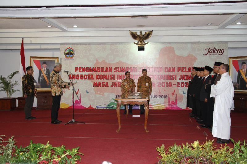 Gubernur Ganjar Dorong Keterbukaan Informasi Pemda