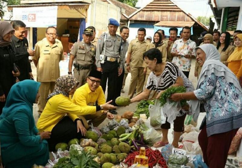 Lebih Berdayakan Rakyat, Anas Perkuat Pasar Tradisional