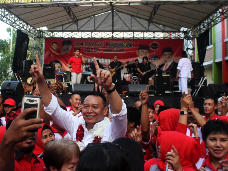 Pilpres, Kang Hasan Kerahkan Caleg Sosialisasi Program