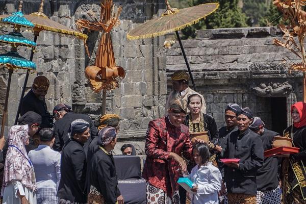 Ganjar Sukses Adakan Dieng Culture Festival ke-9