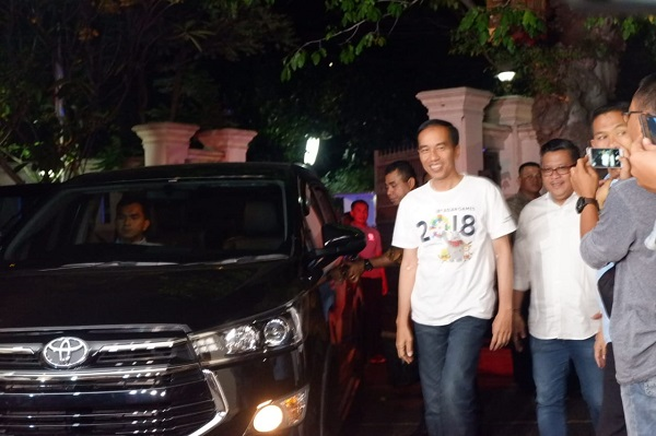 JK Kandidat Terkuat Ketua Timses, Jokowi: Ya Beliau Mau kok