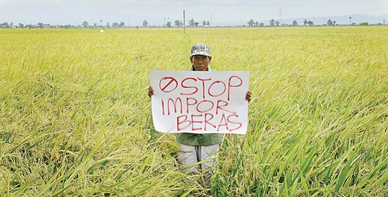 Stop Impor Beras, Kembali ke Ekonomi Berdikari