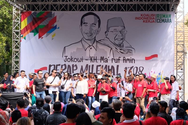 Kirana: Jokowi-Ma'ruf Sudah Tepat, Sangat Mewakili Milenial
