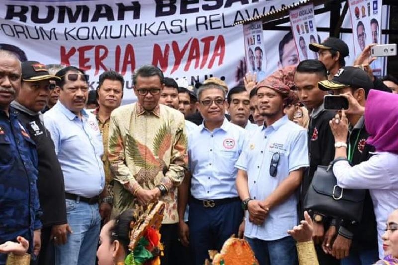 Nurdin Abdullah Didaulat Jadi Ketua Tim Jokowi-Ma'ruf Amin