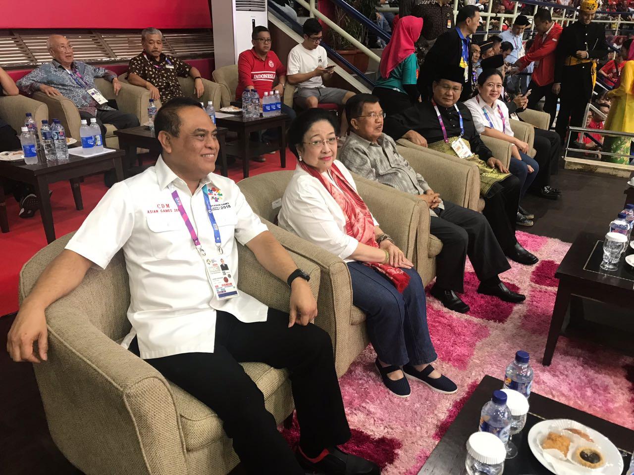 Usai Dukung Bulutangkis, Megawati Hadiri Final Pencak Silat
