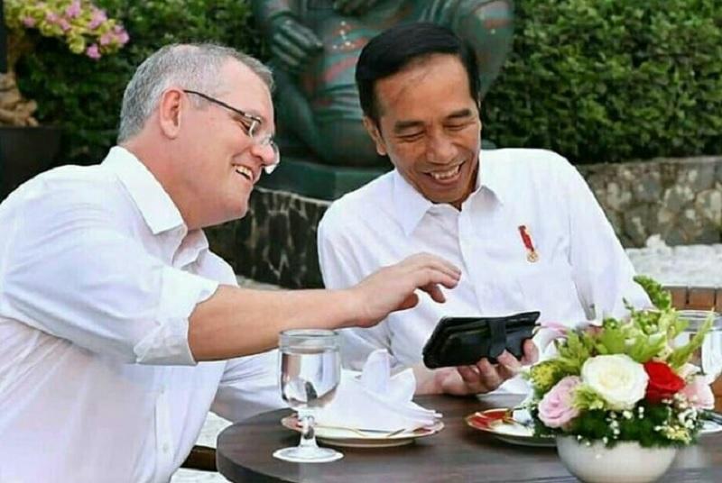 Presiden Jokowi Ucapkan Selamat pada PM Scott Morrison