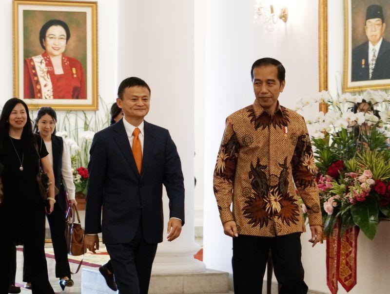 Bertemu Jack Ma, Presiden Bahas Penguatan SDM