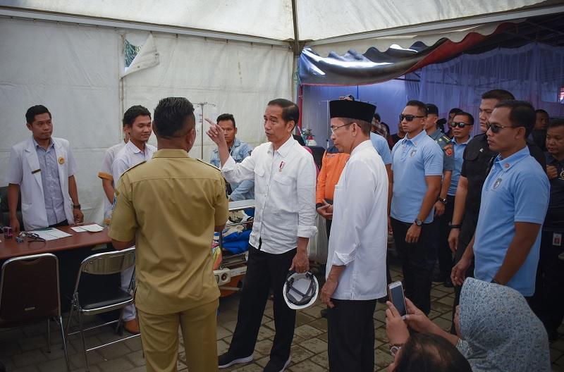Jokowi Pastikan Pantau Rehabilitasi dan Rekonstruksi NTB