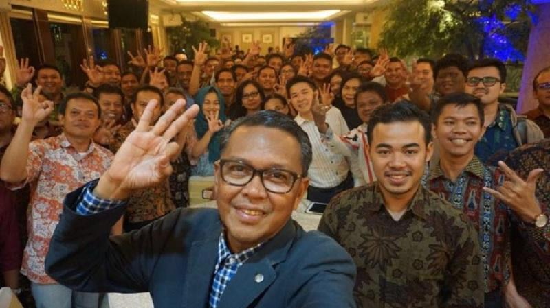 Akan Dilantik, Prof Andalan Sowan ke Warga Sulsel Jakarta
