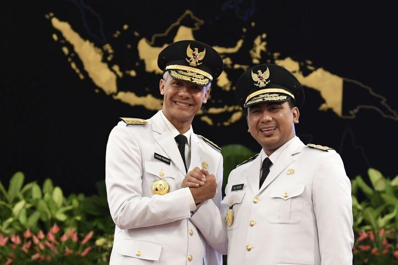 Ganjar-Yasin Siap Laksanakan Pesan Khusus Presiden Jokowi