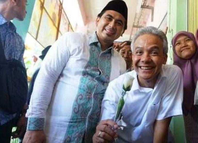 Ganjar-Yasin 'Blusukan' di Pasar Peterongan