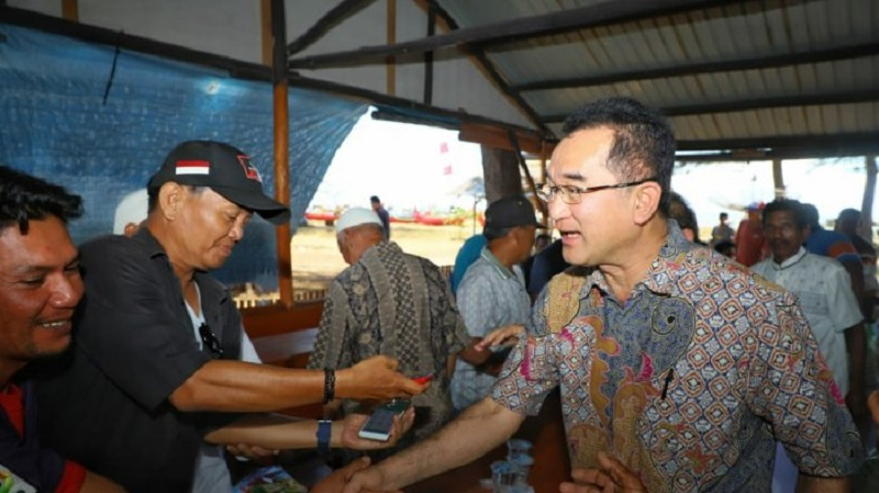 Nelayan Nilai Rudianto Tjen Sosok Peduli Rakyat Kecil