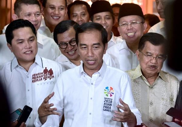 Alasan Erick Thohir Terima Tawaran Jokowi Jadi Ketua Timses