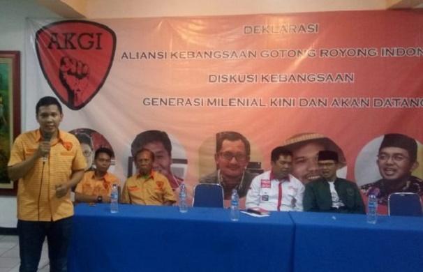 Dukung Jokowi, AKGI ingin Sudahi Permusuhan Cebong-Kampret