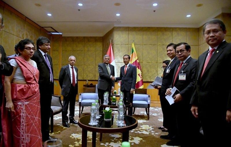Presiden Jokowi Buka Pasar Garmen ke UE Bersama Sri Lanka