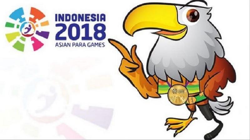 Pawai Momo Maskot Asian Para Games, 23 September 2018