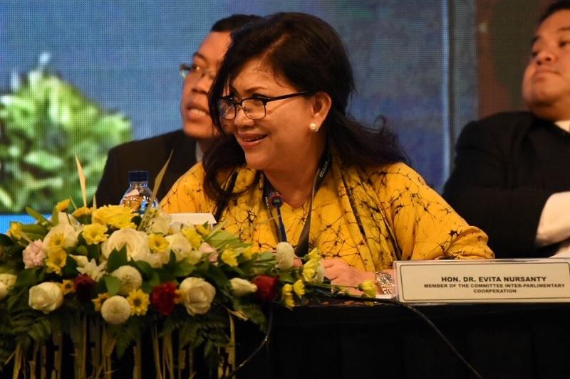Evita: Parlemen Dunia Komitmen Dorong Pencapaian SDGs