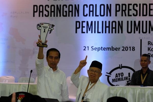 Jokowi-Ma'ruf Jadikan Peningkatan Kualitas Manusia Nomor 1