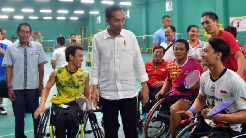 Asian Para Games, Jokowi Optimistis Indonesia Masuk 8 Besar