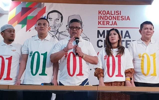 TKN Jokowi-Ma'ruf Launching Kaus Nasional #01