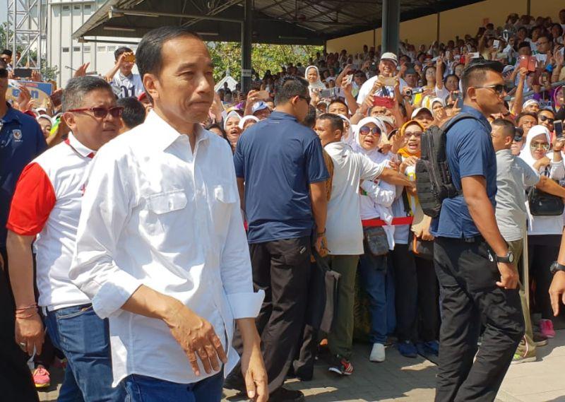 Jokowi: Mari Berdoa untuk Saudara Kita di Palu