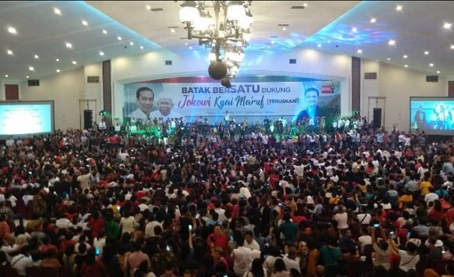 Masyarakat Batak Dukung Jokowi, Ara: Ini Wujud Kecintaan