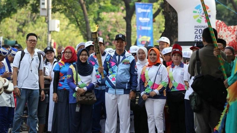 Obor Asian Para Games 2018 Telah Tiba di Jakarta