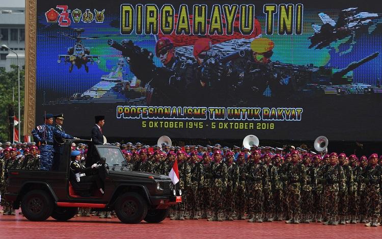 Presiden Minta TNI Berantas Komunisme dan Warisan PKI
