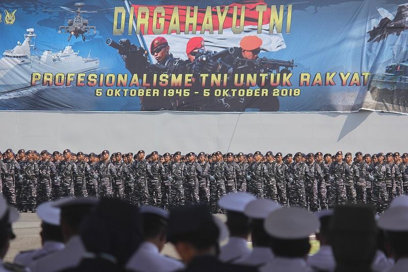 HUT TNI Ke-73, Hasto: Jangan Lupakan Kesejahteraan Prajurit