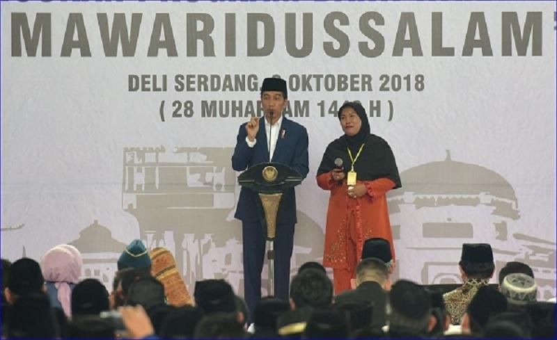Presiden Luncurkan Bank Wakaf Mikro, Pertama di Luar Jawa