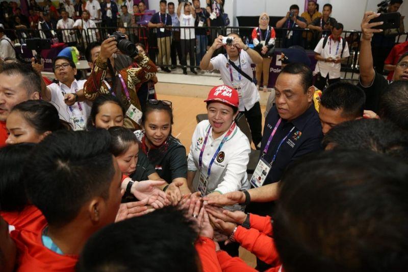 Menko Puan Optimistis Target Asian Para Games Tercapai