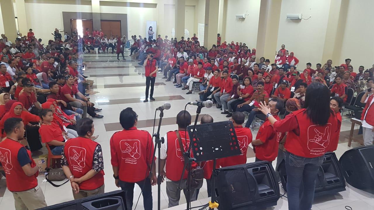 Caleg PDI Perjuangan Gelar Doa Bersama dan Pembekalan Tim