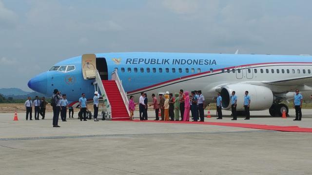 Presiden Harap Ada Penerbangan dari Samarinda