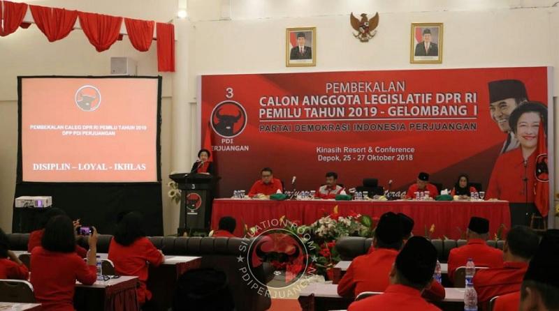 DPP PDI Perjuangan Gelar Pembekalan Caleg Gelombang Satu